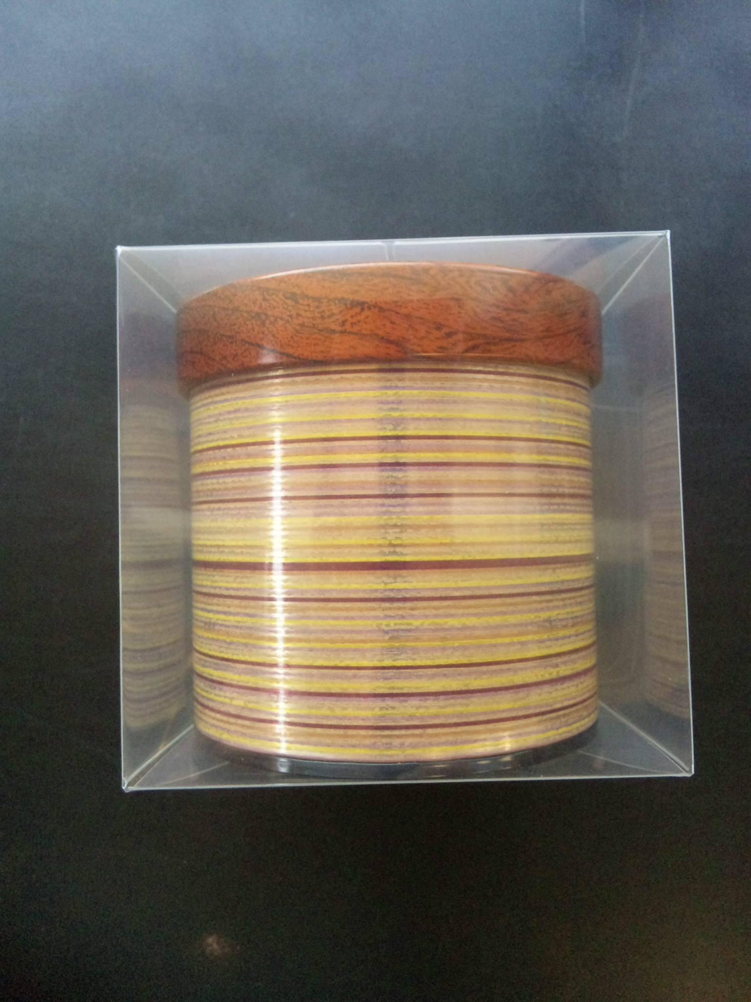 キャニスター缶(玉響2個&焙茶あめ 5粒入り1袋)