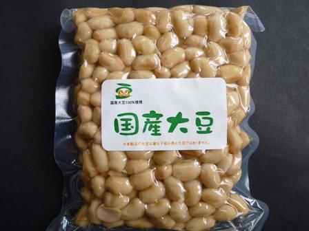 北海道産大豆水煮300g