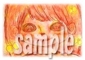 よろしこガール☆笑顔3(水彩)