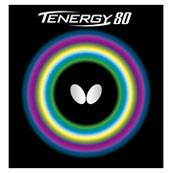 """テナジー・80<br>回転性能とスピード性能のバランスに優れた『テナジー』 2013年1月21日発売<br>『テナジー』シリーズの中でも特に回転性能とスピード性能を高い次元で兼ね備えたのが『テナジー・80』です。新たにツブ形状を研究し、「回転性能とスピード性能のバランスが優れている」と評価された""""開発コードNo.180""""のツブ形状を採用。ドライブ、スマッシュ、カウンターなどスタイルを選ばないオールラウンドなプレーを可能にしました。<br>オープン価格<br>品番 : 05930<br>★本製品をラケットに張る際は『フリー・チャック2』をご使用ください <br>★本製品は大変デリケートにできており、表面は大変傷つきやすくなっております。ラバーを保護するため、ご使用後は必ず保護用のフィルムで表面をガードしてください"""