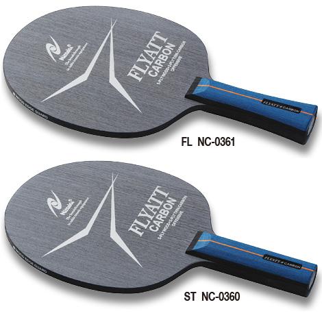 """ACラバー「フライアット」とのベストマッチギア<br><br>5枚合板に極薄カーボンを搭載<br>軽量かつ、打球感の良さを重視した木材を用いた5枚合板に極薄カーボンを搭載することで、スピード性能をアップさせました。<br><br>バランスのとれた板厚<br>板厚を6.0mmに設定することで、スピード性能と威力を確保するとともに、扱い易さと、ドライブの安定性を実現しました。<br><br>ACラバー「フライアット」とのベストマッチギア<br>「フライアット」を貼り合わせることによって、「フライアット」のスピード性能と打球感をさらに際立たせ、""""弧""""を描く安定した連続ドライブが可能となります。<br><div>メーカー希望小売価格¥6.800+税</div>"""