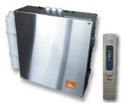 災害用逆浸透膜浄水器1200L/日の飲料水を生成できます。水質を監視する、TDSメーターを標準装備。