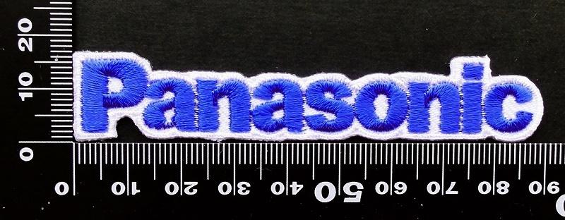 パナソニック Panasonic ワッペン (青2)