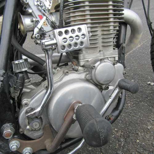 ドリルドキックペダルHWZN アルミ SR400/500