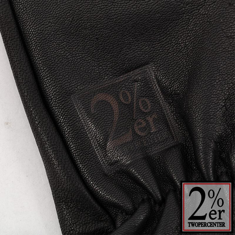 鹿皮グローブ ブラック ver.2 2%ER焼印ロゴ入り