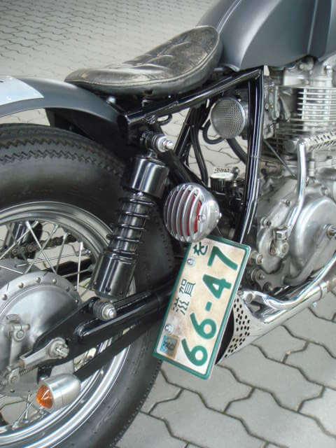 【280mm ローダウンサスペンション】G-SUSPENSION280【Black】汎用【チョッパー】カフェレーサー【ボバー】