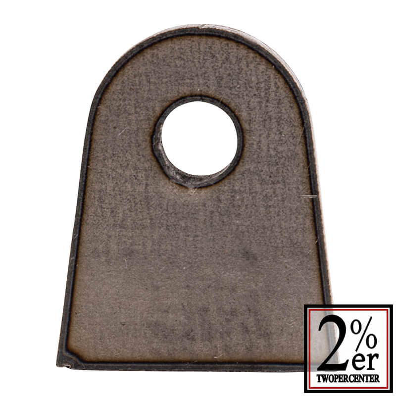 ウェルドタブ 9ミリ厚 スチール Sサイズ 2p