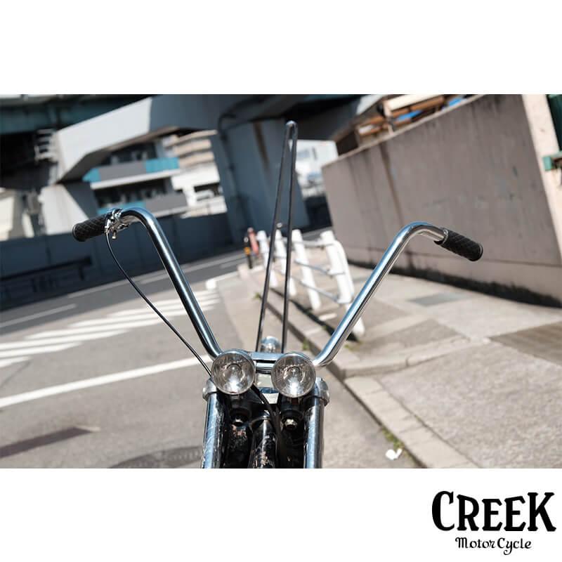 ハイバー 1インチ CREEK MOTORCYCLE製