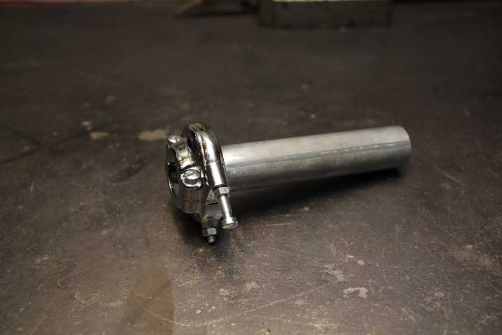 【アマルタイプ スロットルホルダー  Type AMAL364】汎用(7/8インチハンドル用)