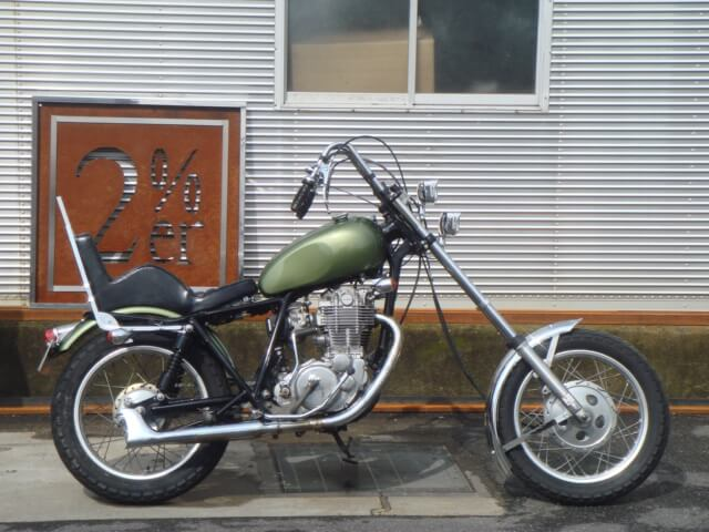 SR400/500用 15cm インナーチューブ ペア【BIKE】2%er オリジナル【ロングフォーク】チョッパー
