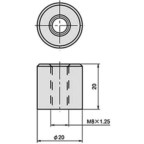 ウェルドトールナット M8 10ピース