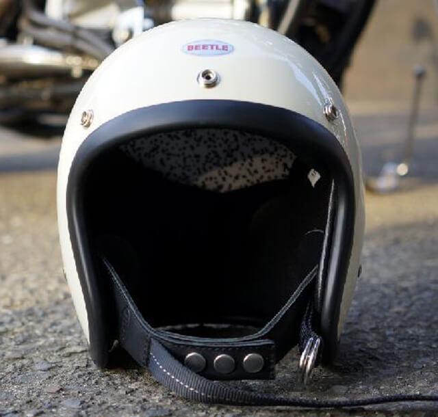 オーシャンビートル 500TX-2 ジェットヘルメット アイボリー