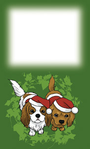 メッセージカード: キャバクリスマス[BLENHEIM]