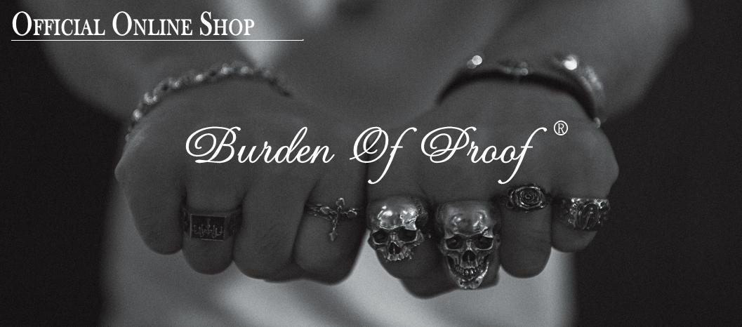 BURDEN OF PROOF/バーデンオブプルーフ公式