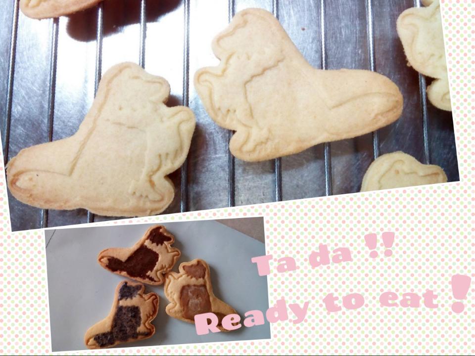 出来上がり例 アイシングクッキー