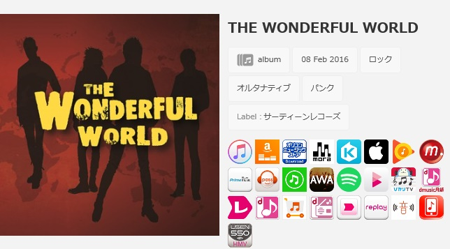 THE WONDERFUL WORLD