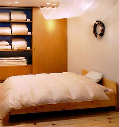 イワタのひのきベッド
