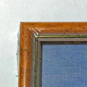 木枠の色-木目調斑点