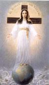 ご絵「すべての民の御母」(10×14.8cm 葉書サイズ)