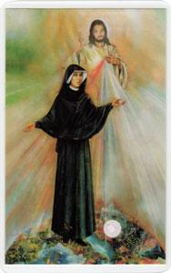 ② いつくしみのイエスと聖ファウスティナ