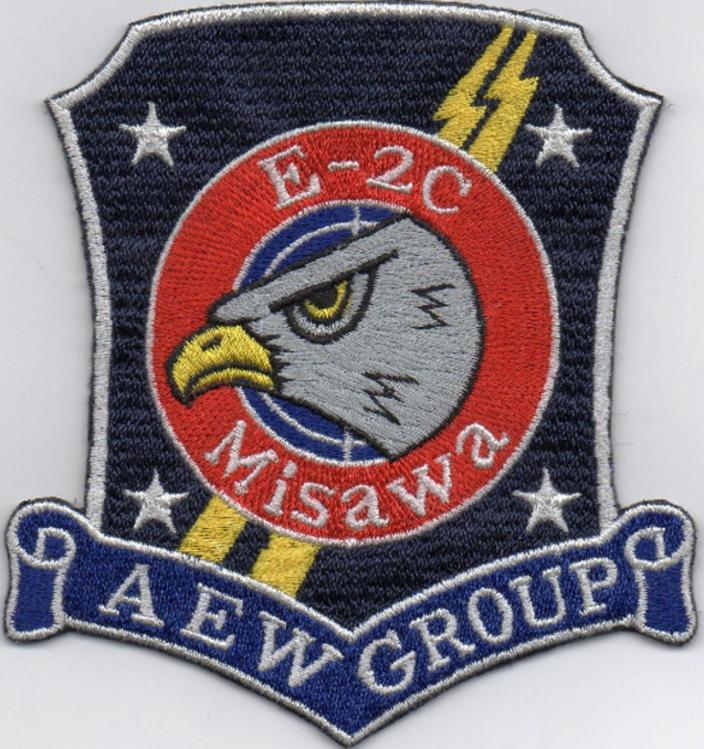 三沢AEW E2C隊員パッチ