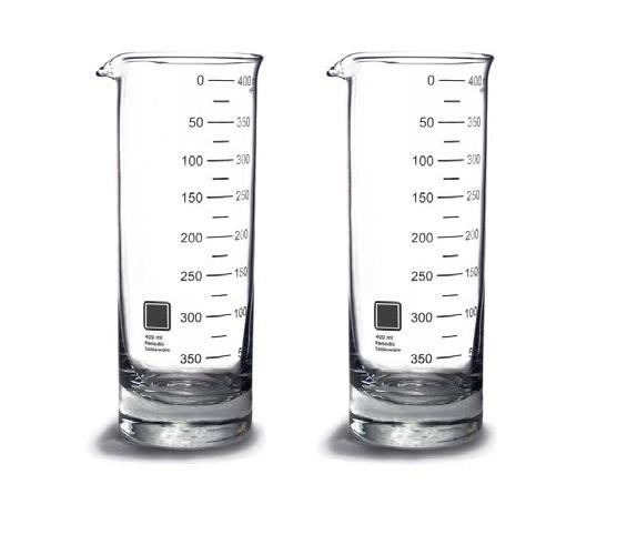 Laboratory Beaker Highball Glasses