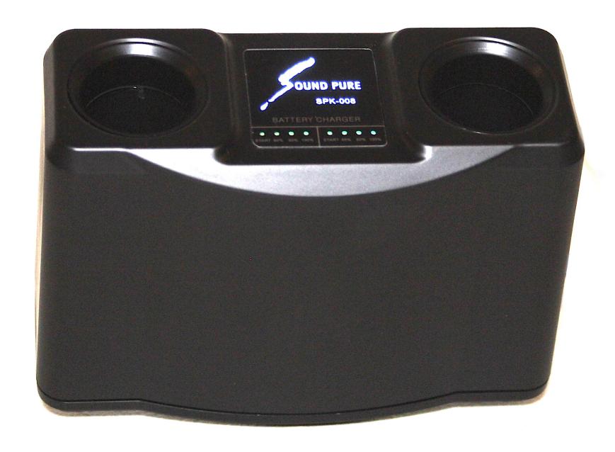 SPK-008 業務用赤外線充電式ワイヤレスマイク充電器