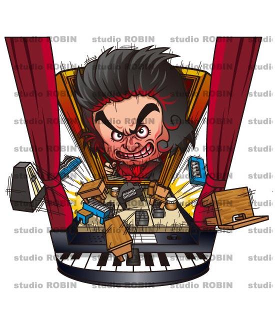音楽室を元に戻せ!逆襲のベートーベン